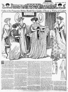 femei insarcinate 1909